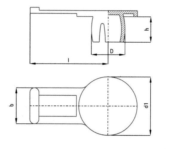 Sketch overlay universal laschenstopfen